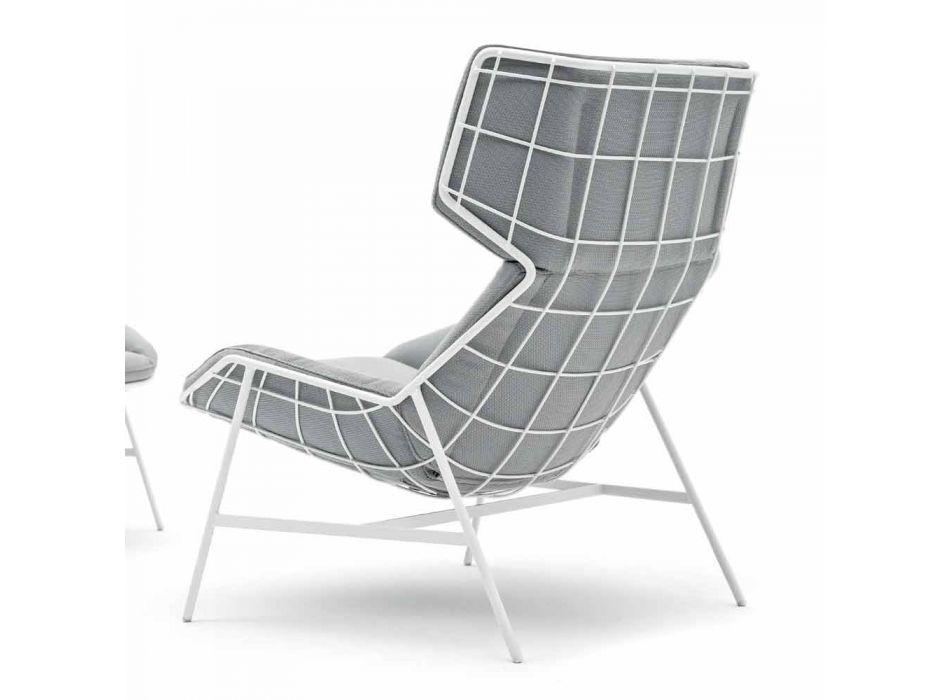 Bergere zahradní křeslo Varaschin Letní sada moderního designu