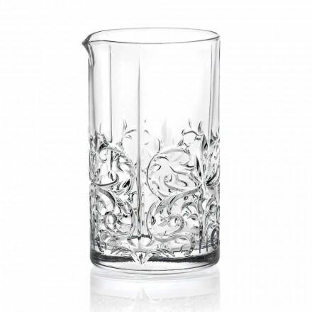 Míchání skla s výstřední dekorací Luxusní design 4 kusy - Destino