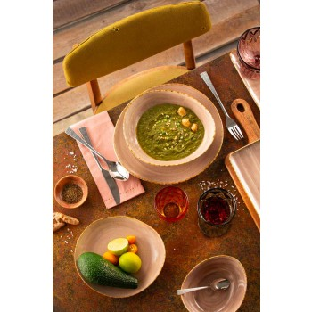Moderní skleněné barevné sklenice na víno 6 kusů - Timon