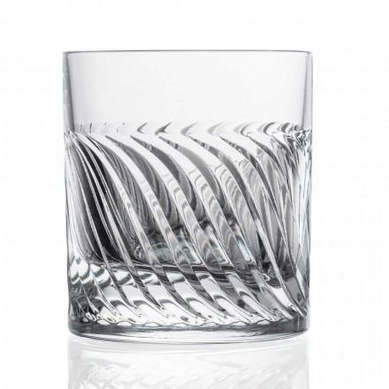 Luxusní sklenice na whisky Eco Crystal DOF 12 kusů - arytmie