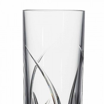 Brýle Highball Tumbler Luxusní design zdobený 12 kusy - Montecristo