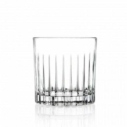 Lowball Tumbler Basso Staromódní Brýle pro Cockatil 12 Kusů - Senzatempo