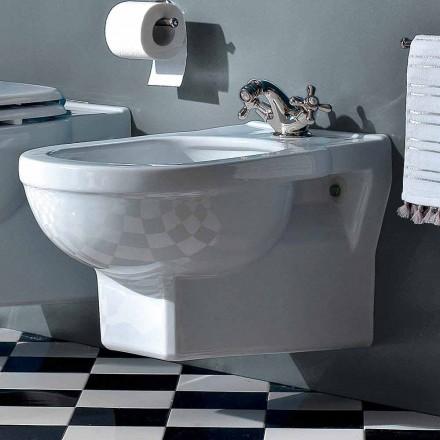 Klasický jednorázový bidet v bílé keramice Vyrobeno v Itálii - Marwa