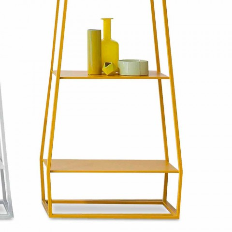Bonaldo duben 210x60cm barevné kovové knižní provedení vyrobené v Itálii