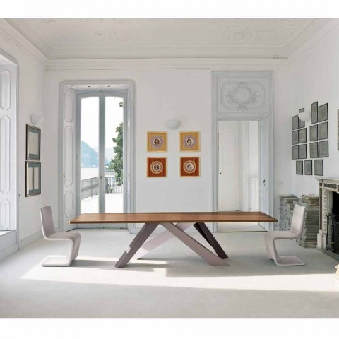 Bonaldo Big Table dýhovaný stůl vyrobený v designu Itálie