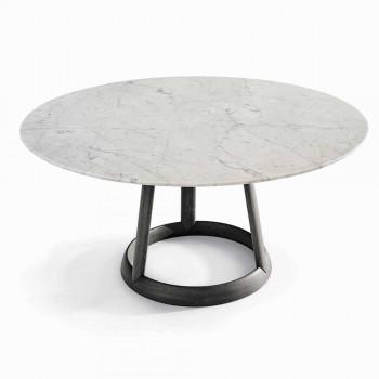 Bonaldo Greeny Design kulatého stolu Carrara mramorová podlaha vyrobená v Itálii