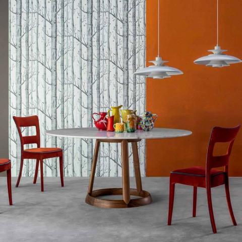 Bonaldo Greeny kulatý stůl Calacatta mramorová podlaha vyrobená v Itálii