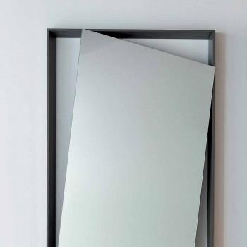 Bonaldo visuté zrcadlové stěny lakované dřevo design H185cm vyrobené v Itálii