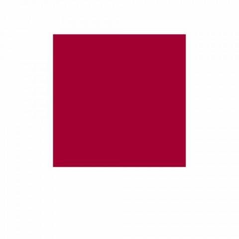 Bonaldo červená kovová knihovna designu H190xL70cm vyrobená v Itálii