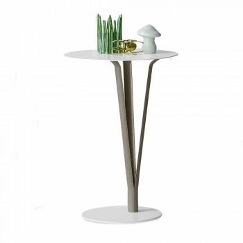 Bonaldo Kadou designový stůl v lakované oceli D39cm vyrobený v Itálii