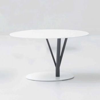Bonaldo Kadou designová tabulka lakovaná ocel D70cm vyrobená v Itálii