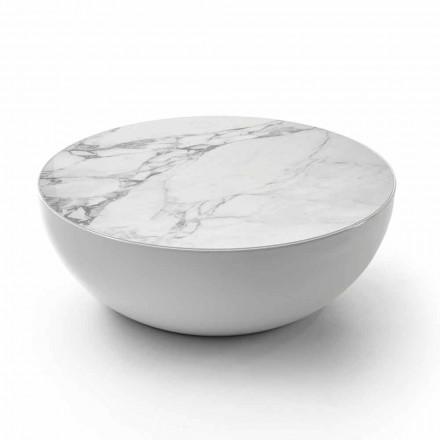 Bonaldo Planet design keramický stůl Calacatta vyrobený v Itálii