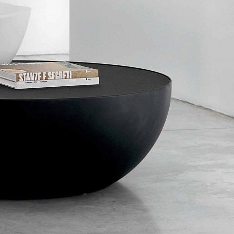 Bonaldo Planet design konferenční stolek v leptané sklo vyrobené v Itálii
