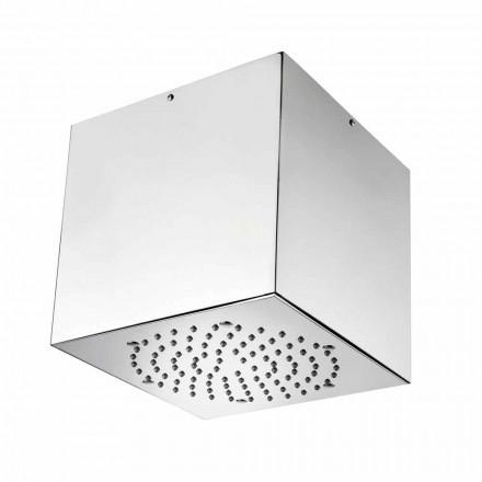 Bossini Cube sprchové hlavice potažená ocel moderní proudové letadlo