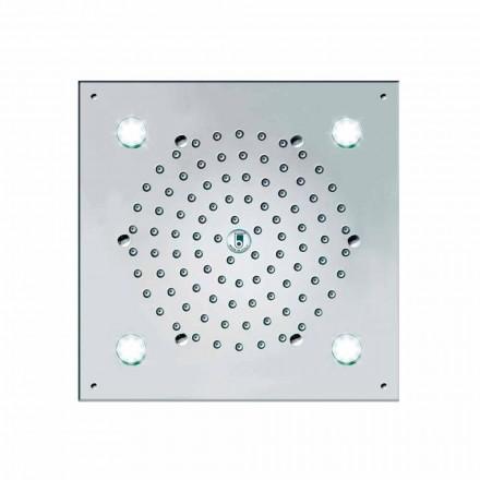 Sprchová hlavice Bossini 4 světla LED kostka-světlo