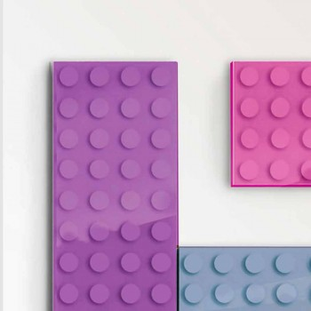 Brick elektrický radiátor konstrukce tie vyrobeny v Itálii Scirocco H