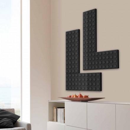 Brick radiátor elektrický lego vyrobeny v Itálii Scirocco H