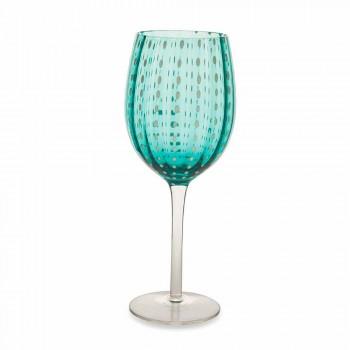 Barevné a moderní sklenice na víno 12 kusů Elegantní služba - Persie