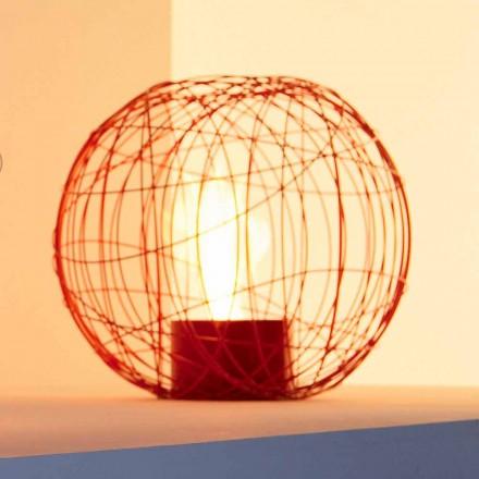 Bioethanol ohniště desktop / broušená ocel ve tvaru koule Henry