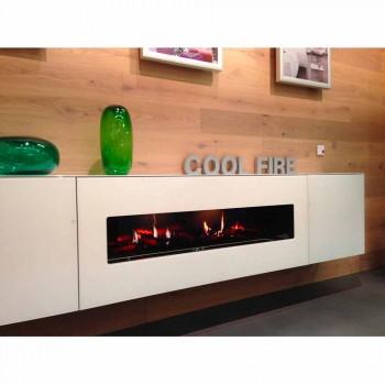 Ohniště Electric pod omítku s HD displejem a LED Double Edinburgh