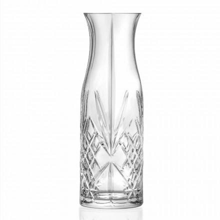 Džbán s designem Eco Crystal na vodu nebo víno 4 kusy - Cantabile
