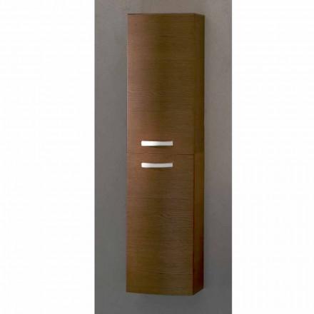 Gioia, dvoudveřová koupelnová skříňka z dubového dřeva vyrobená v Itálii