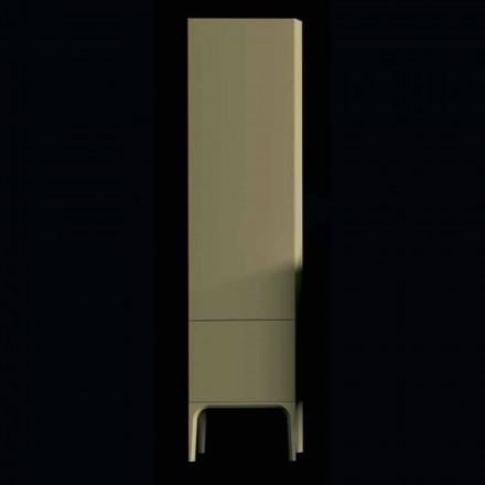 Amanda dřevěná koupelnová skříň se 2 dveřmi, moderní design, vyrobená v Itálii