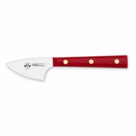 Nůž z tvrdého sýra z nerezové oceli, Berti exkluzivně pro Viadurini - srpen