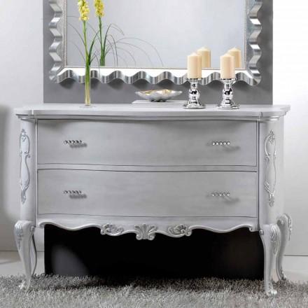 Dresser klasický design a masivní dřevěné rukojeti Bone Crystal