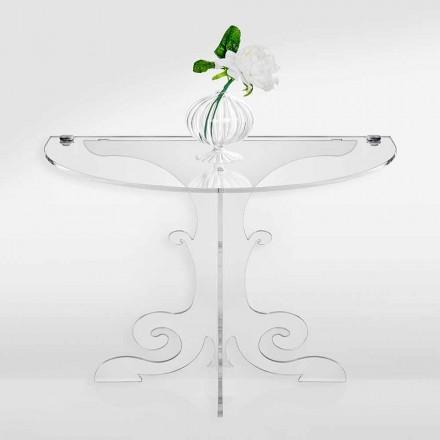 Klasický design noční stolek z akrylového krystalu a PMMA, Tiana
