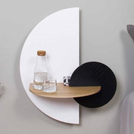 Moderní modulární noční stolek v překližce Elegantní a všestranný design - Ramia