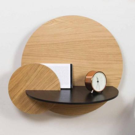 Modulární noční stolek Elegantní design v překližce se skrytým oddílem - Bigno