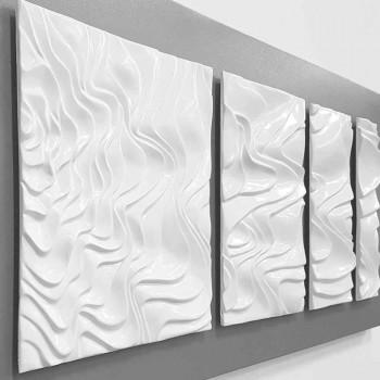 Nástěnné dekorace designu v moderní abstraktní keramice - Verno