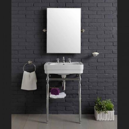 koupelnový nábytek kompozice s umyvadlem kovová konstrukce krása