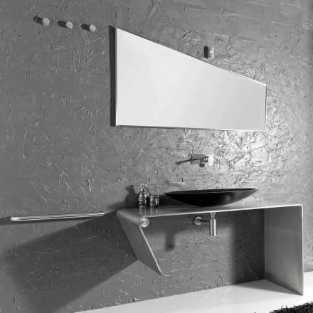 Moderní koupelnový nábytek vyrobený v Itálii Luisa