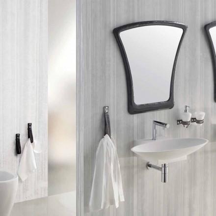 Závěsné designové koupelnové nábytek složení vyrobené v Itálii Aosta