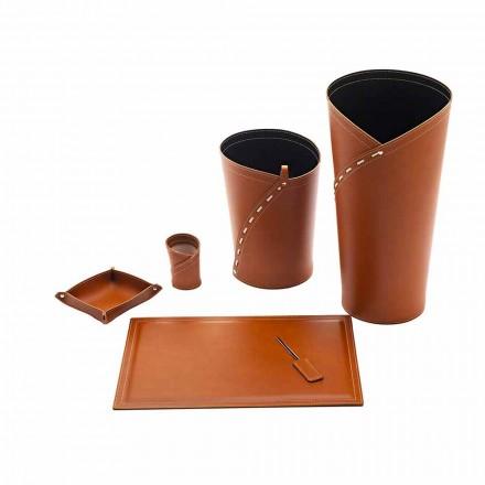 Kancelářské doplňky Vyrobeno v Itálii Stojan na deštníky, koš na papír, psací stůl - Giulio