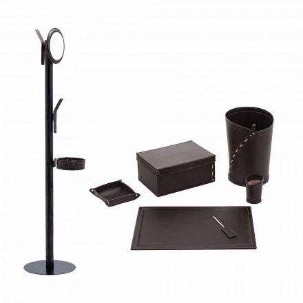Kancelářské potřeby Věšák, Stůl, Papírový koš, Držáky - Andrea