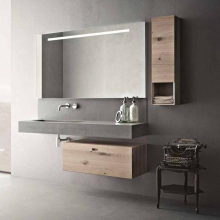 Designová kompozice do koupelny Moderní zavěšený nábytek vyrobený v Itálii - Farart2
