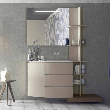 Složení nábytku do koupelny moderního designu - Callisi13