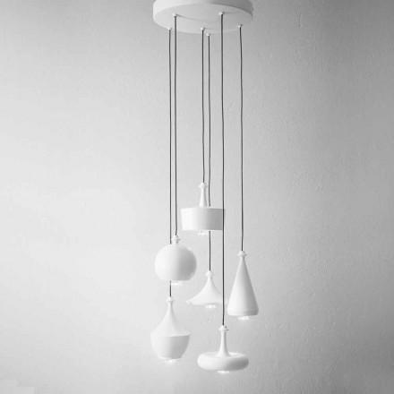 Složení Designové lampy pro zavěšení - Lustrini Aldo Bernardi