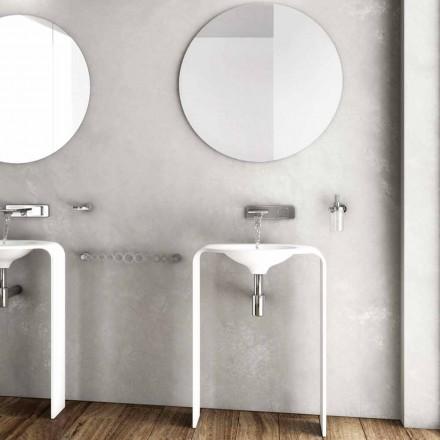 Moderní koupelnové podlahové nábytkové kompozice vyrobené v Itálii