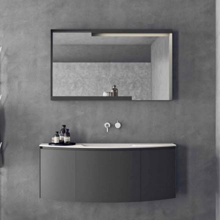 Složení zavěšeného koupelnového nábytku s moderním designem - Callisi3
