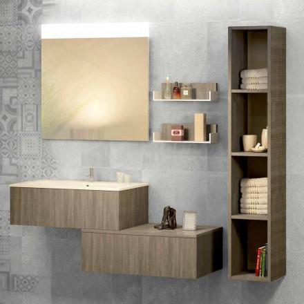 Závěsná koupelová kompozice v mineralmarmo a fenix z Itálie, Forlì