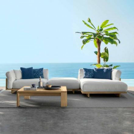Složení Zahradní nábytek do obývacího pokoje Pohovka a konferenční stolek - Argo od Talenti