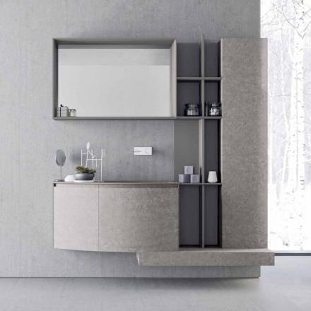 Složení koupelny, zavěšení moderního italského designu - Callisi10