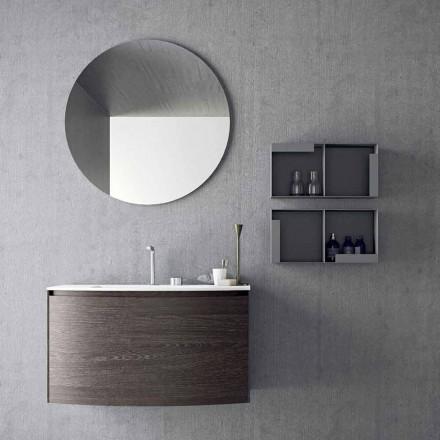 Složení pro závěsnou koupelnu moderního designu vyrobené v Itálii - Callisi11