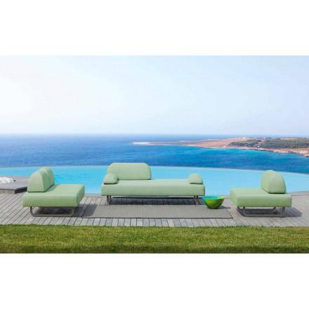 Složení venkovního obývacího pokoje Made in Italy Design Fabric - Selia