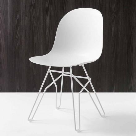 Connubia Academy Calligaris židle moderní design made in Italy, 2 ks