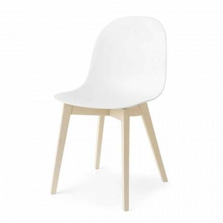 Connubia Calligaris Academy základní konstrukce židle ze dřeva, 2 ks